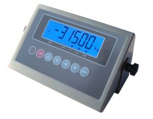 CE Approval Stainless Steel Weighing Indicator with LCD Display (XK315A1GB-L)