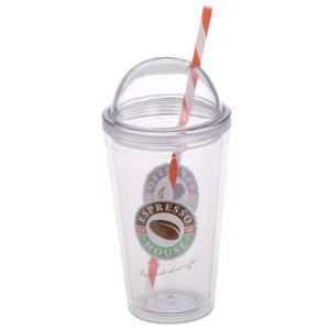 16oz Wholesale Sippy Plastic Cup with Dome Lid pictures & photos