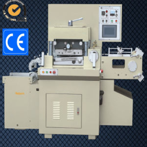 Barcode Label Die Cutter Machine with Laminatio+Punching+Hot Stamping