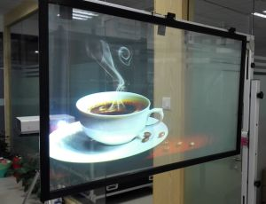 Holographic Film, Transparent Rear Projection Screen pictures & photos