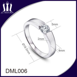 Imitation Jewelry Clip Stone Ring for Women pictures & photos