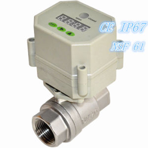 High Quality Electric Timer Controlled Automatic Water Ball Valve pictures & photos