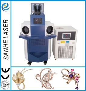 Gold Molding Machinery Spot Laser Welding Machine for Jewelry Welder pictures & photos
