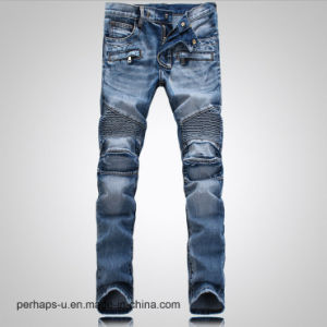 Wholesale Fashion Clothes Men′s Wash Stretch Jeans Slim Pants pictures & photos