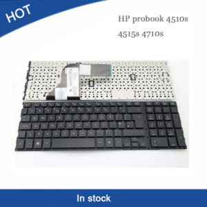 Poplular Laptop Notebook Keyboard for HP 4510 4510s UK pictures & photos