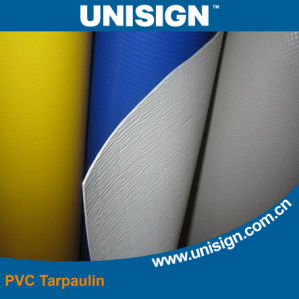 Fire Retardant PVC Tarpaulin for Awning pictures & photos