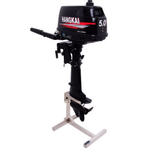 5HP Chinese Outboard Motor Water Cooling 2 Stroke Boat Engine pictures & photos
