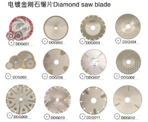 Electroplated Lapidary Diamond Saw Blade pictures & photos