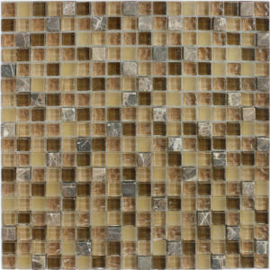 Mixed Color Natural Stone Marble Mosaic for Background Wall pictures & photos