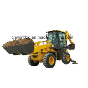 China Band Backhoe Loader with 1m3 Loading Bucket pictures & photos