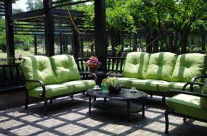 Cast Aluminum Sofa Chat Group Patio Furniture pictures & photos