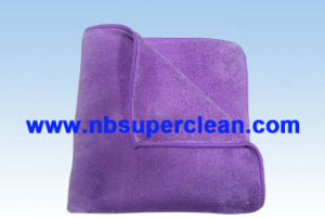 80% Polyester and 20% Polyamide Bulk Microfiber Cleaning Towel (CN3670) pictures & photos