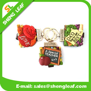 Hot Sale Key Chain Rubber Handmade Craft Mini Bible Book pictures & photos