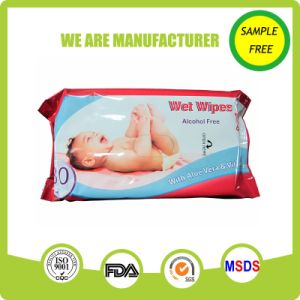 Spunlace Nonwoven Alcohol Free Skin Care Cleaning Hand Face Baby Wet Wipes pictures & photos
