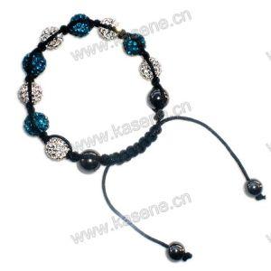 Handmade Knotted Rosary Bracelet, Fashion Shamballa Bracelet