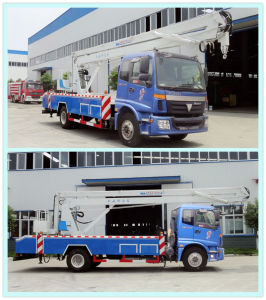 Foton 4X2 Hydraulic Aerial Cage pictures & photos
