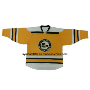 Ice Hockey Jerseys with Patch/Crest of Custom Styles
