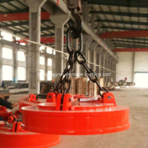 China Scraps Lifting Magnet for Overhead Crane MW5 Series pictures & photos