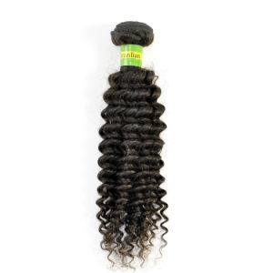 100% Human Natural Brazilian Virgin Hair Extension Kinky Curly Hair Weave Lbh 129 pictures & photos