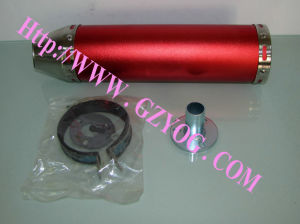 Yog Spare Parts Motorcycle Accessories Exhaust Pipe Muffler 88-300 mm Blue Red Green All Colors pictures & photos