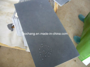 Honed Granite Hainan Black Tile for Floor and Wall pictures & photos