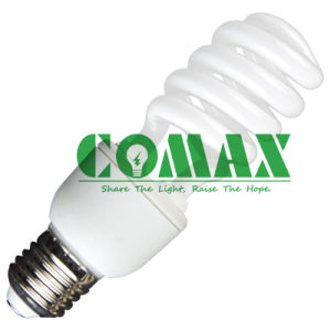 23W T3 Half Spiral Energy Saving Lamp CFL Light pictures & photos