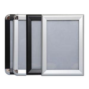 "Black Color Aluminum Snap Frame 8.5X11"" Size Poster Frame pictures & photos"
