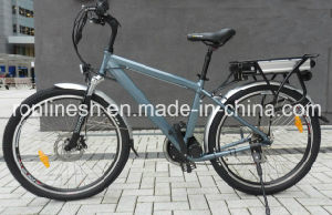 Man Style MID/Center Motor/Chain Drive 250W Electric Bike/Bicycle/E Bicycle/Pedelec, 36V, 15ah Lithium pictures & photos