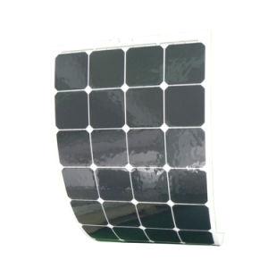 High Efficiency Grade a Cell Sunpower Flexible Solar Panel 100W pictures & photos