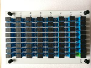 1*64 Illustration Fiber Splitter with Sc Connector