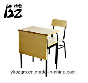 Double Conjoined Table and Chair (BZ-0076) pictures & photos