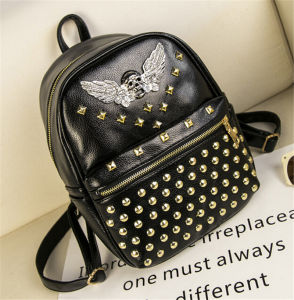 New Leisure Fashion Rivet Women Backpack Bag Hot Sell pictures & photos