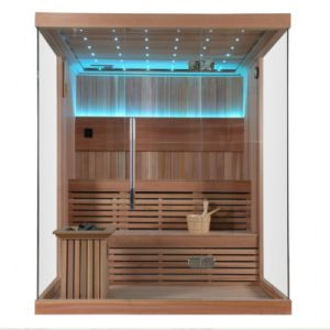 Customized Red Cedar Dry Sauna House Sauna Room pictures & photos