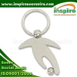 Zinc Alloy Amazing Sports Keychain for Promotion Gift (K905) pictures & photos