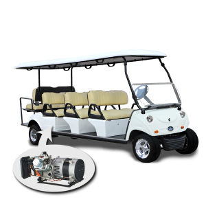 6+2 Seater Golf Cart with Front Trunk & Hybrid Generator pictures & photos