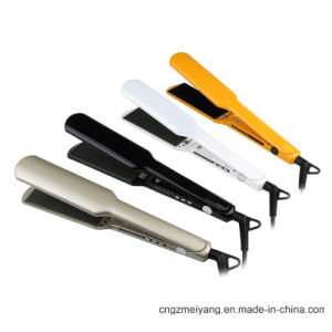 Colorful LED Display and Long Plate Hair Straightener pictures & photos