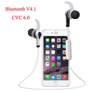 Stereo Wireless CVC6.0 Bluetooth 4.1 Music Sport Headset for iPhone Samsung Smartphone pictures & photos