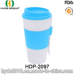 2016 New Style Promotional Plastic Coffee Mug (HDP-3000) pictures & photos