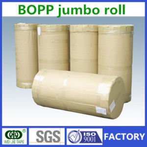 BOPP Adhesive Tape Jumbo Roll, Jumbo Roll BOPP Tape, BOPP Jumbo Roll Tape Made in China pictures & photos