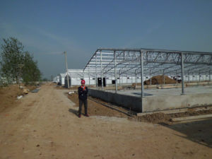 Prefab Chicken Farm with Automatic Poultry Equipment pictures & photos