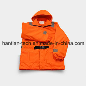 Warm Marine Work Life Jackets Suitable for Working on Ship and Cool Condition (HTFZ001) pictures & photos