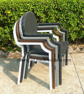 Outdoor Furniture Garden Wicker Chair Stackable Morden Chair Hotel Chair (YTA215) pictures & photos