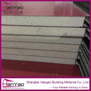 Customized 50mm Color Steel Polyurethane PU Sandwich Panel for Wall Puf PIR Sandwich Panel pictures & photos