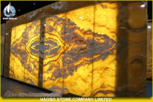 Decorative Onyx Stone Used in Background Wall pictures & photos