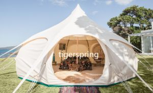 Waterproof Lutos Belle Tent Cotton Canvas Luxury Glamping Tent
