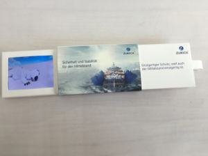 """Slide Digital LCD Video Business Card Mini 2.4"""" TFT Screen Audio Invitation Video Business Card pictures & photos"""