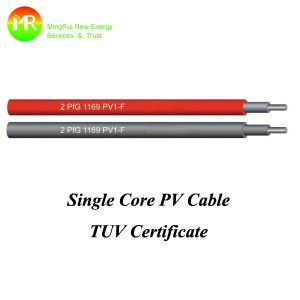 4mm Mc4 Connector Solar Cable Photovoltaic Cable pictures & photos