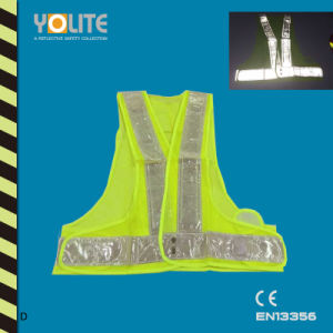 Reflective Running Vest, Safety Vest, Reflective Safety Vest with CE En13356 pictures & photos