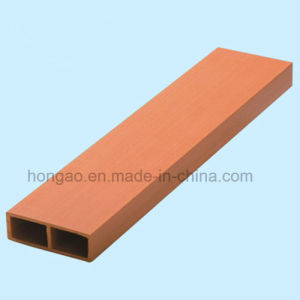 Rectangular Tube 60*12mm Square Tube Wood Plastic Composite