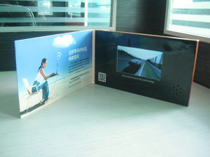 Customized Printing LCD Video Card pictures & photos